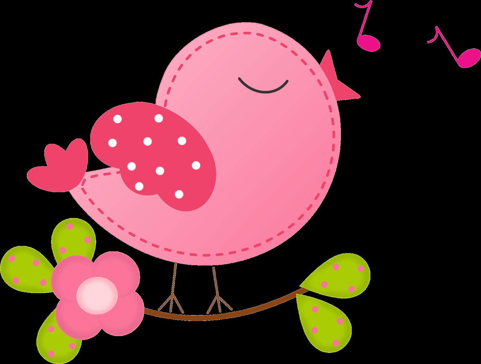 Beauty Birds Singing Clipart..