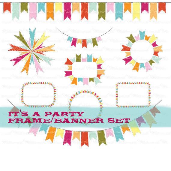 Clipart Birthday Banner