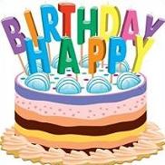 Birthday Cakes Clipart.