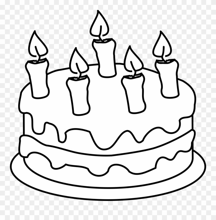 clipart birthday cake #2