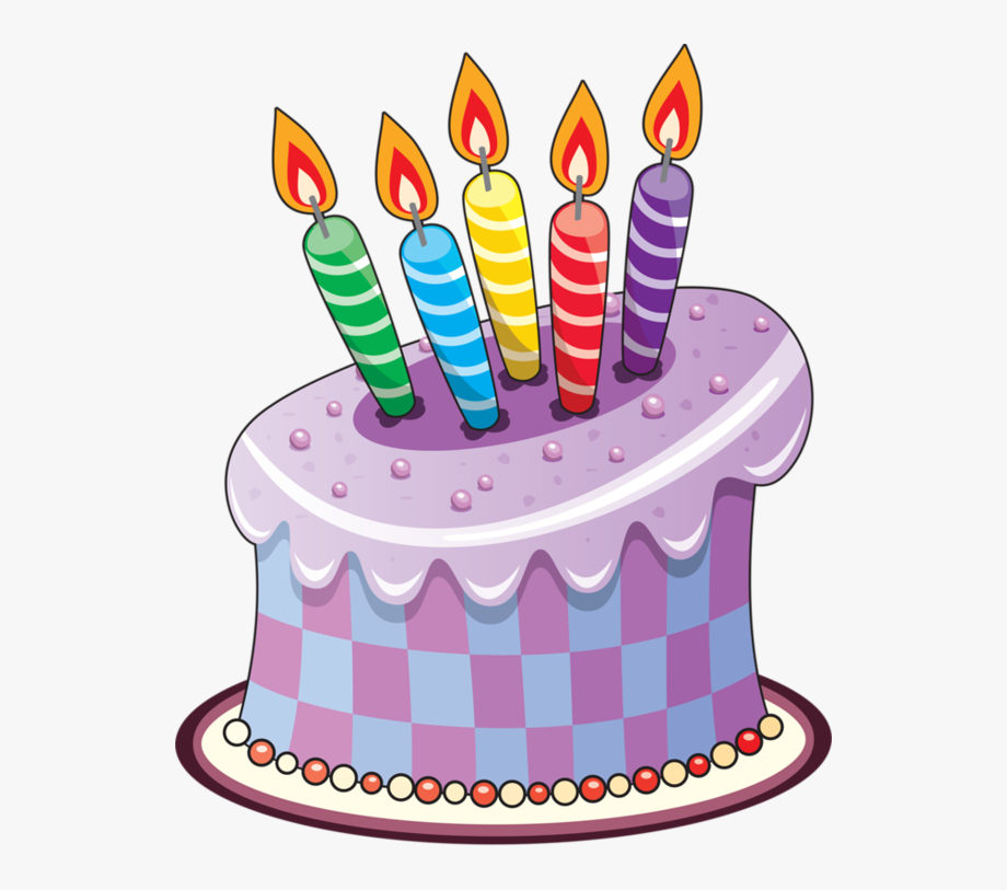 Birthday Cakes And Balloons Vectors.