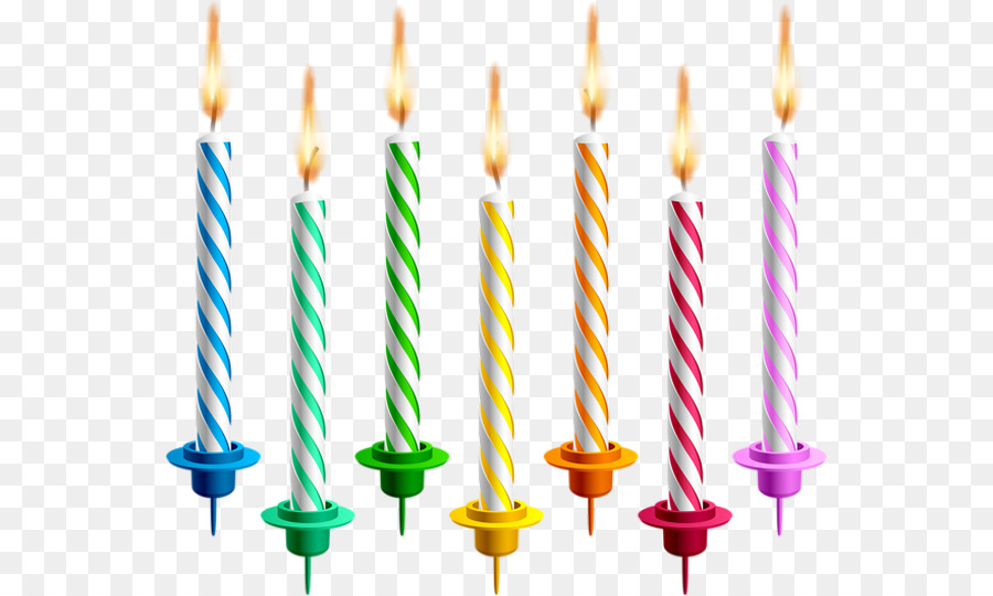 Birthday Candles clipart.