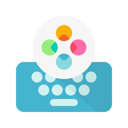 Fleksy Keyboard: Christmas Themes + GIFs & Emojis.