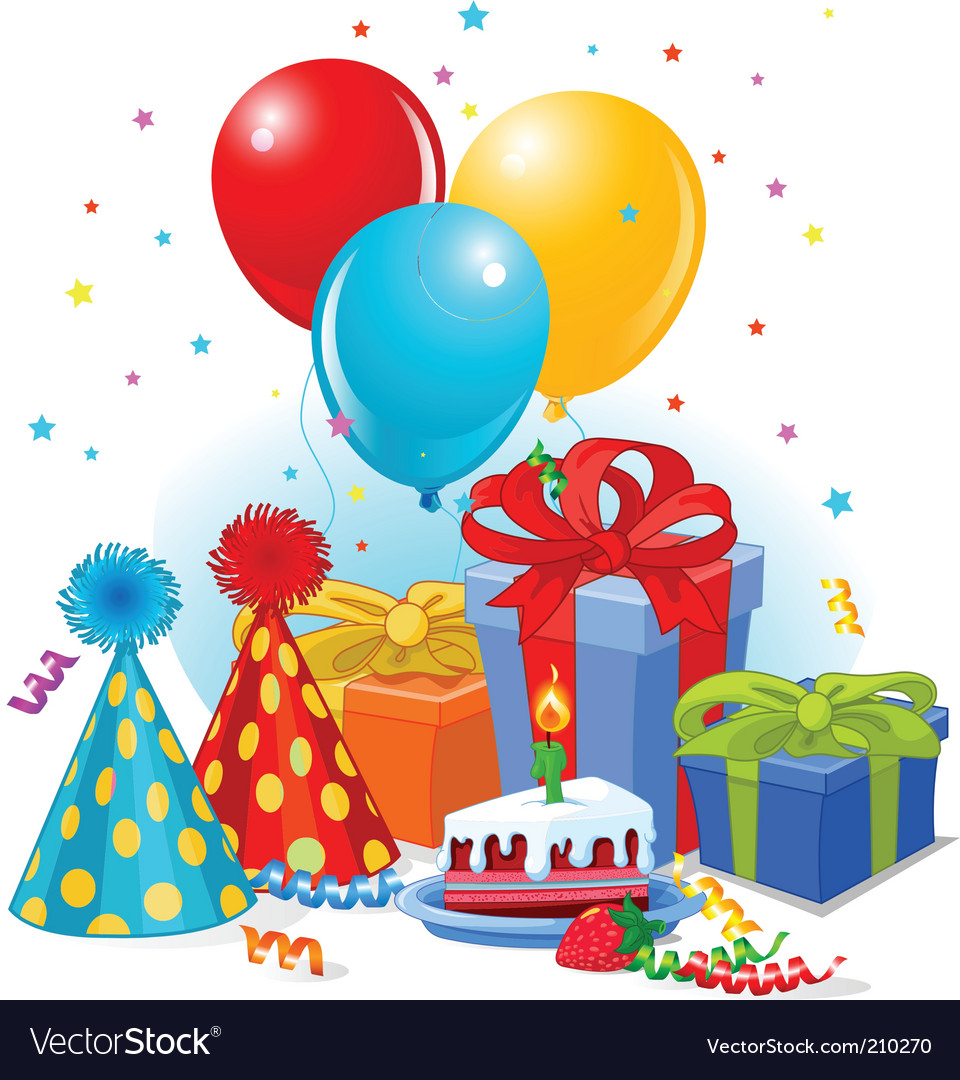 Collection of free Decorating clipart birthday favor.