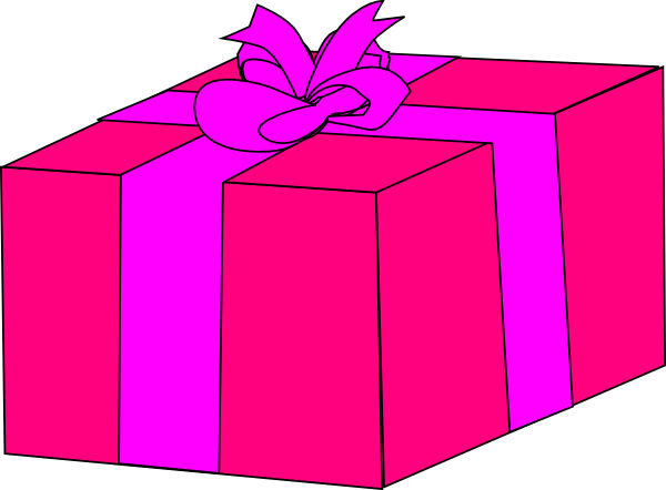 Birthday Present Clipart.