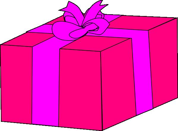 Birthday Present Clipart.