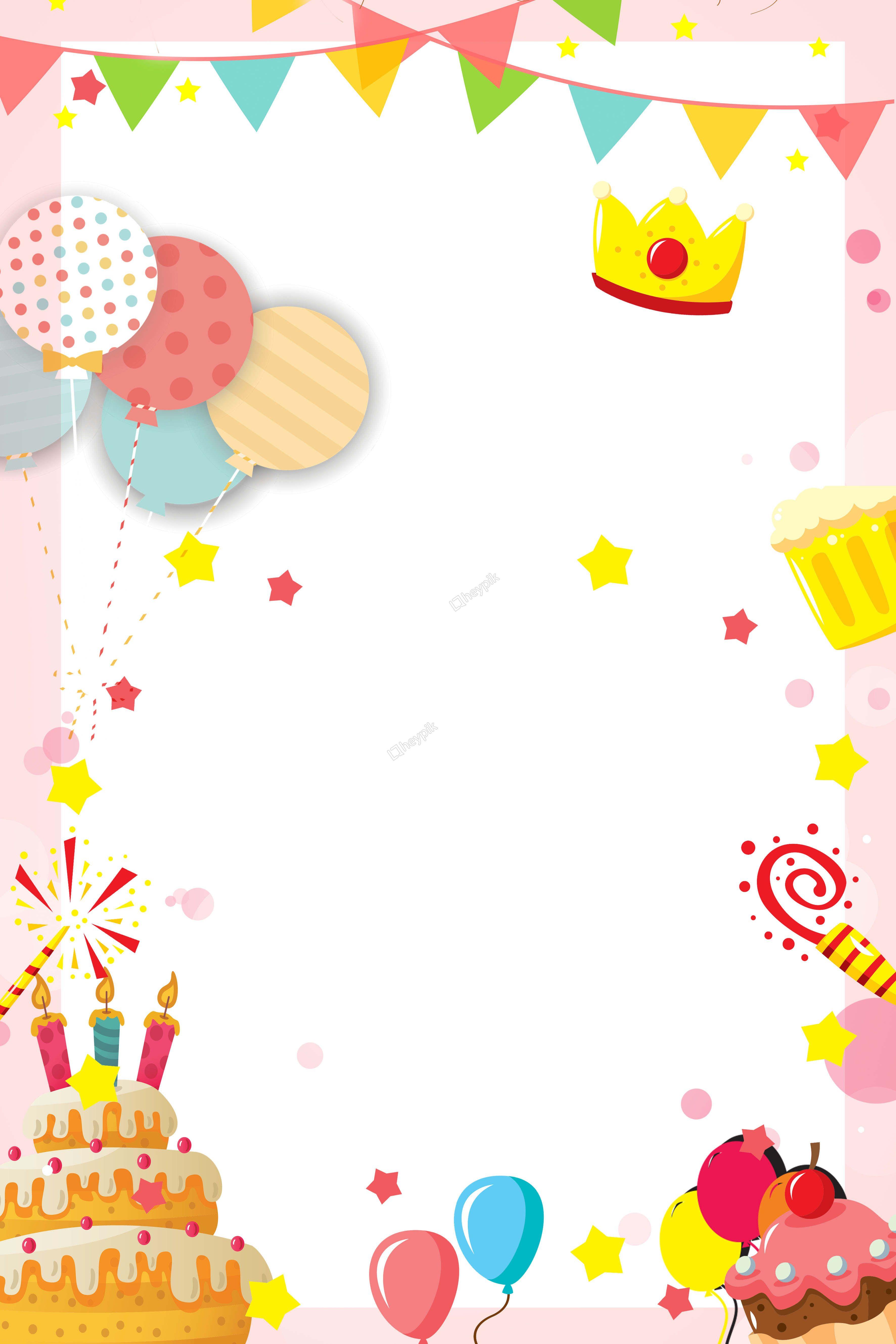 birthday invitation background.