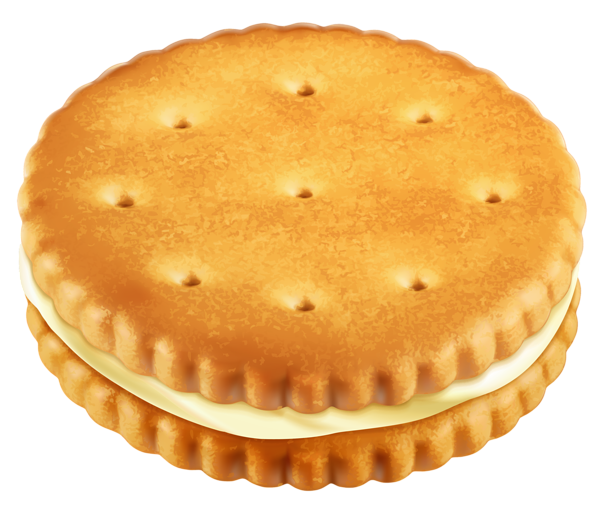 Sandwich Biscuit PNG Clipart Picture.