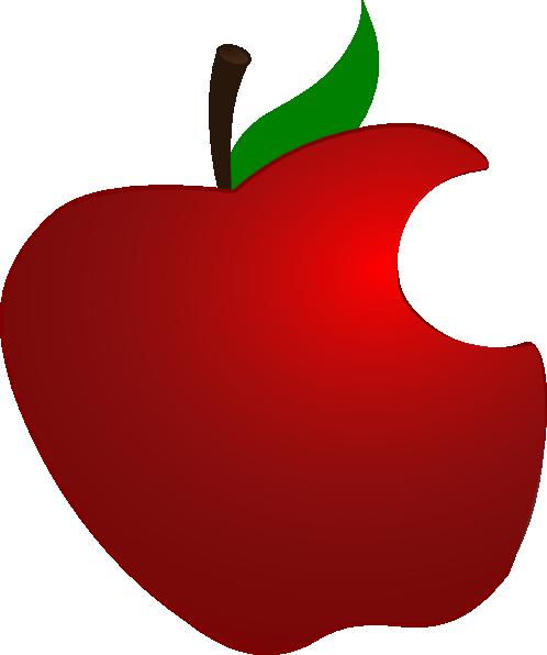 Bit Apple Clip Art at Clker.com.