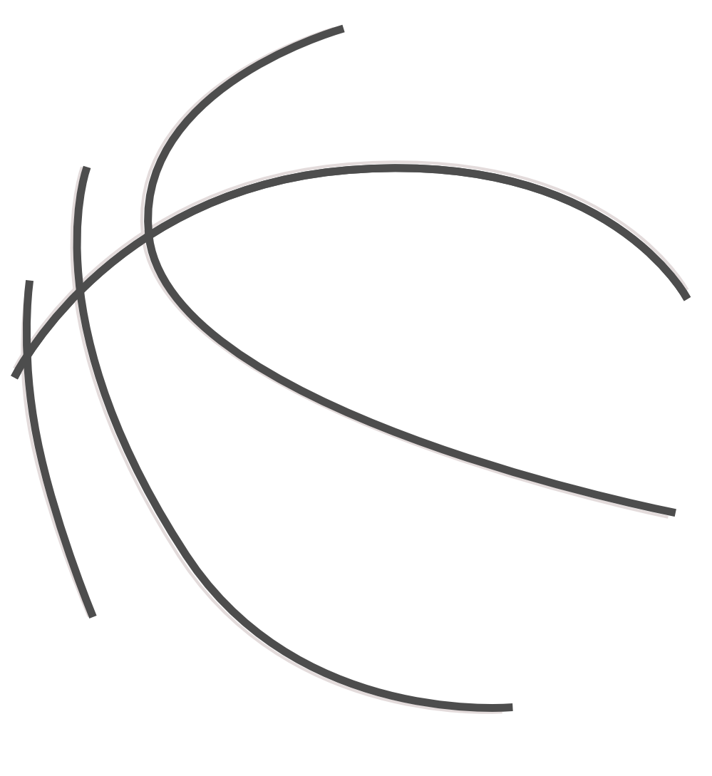 Free black and white basketball stock png files, Free CLip Art.
