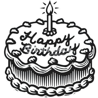 Cake clipart black and white, Picture #145801 cake clipart.