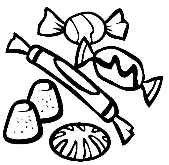 Candy Clipart Black And White & Candy Black And White Clip Art.