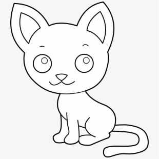 Free Cats Clipart Black And White Cliparts, Silhouettes, Cartoons.