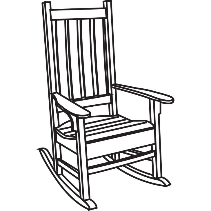 Clipart black and white chair 5 » Clipart Station.