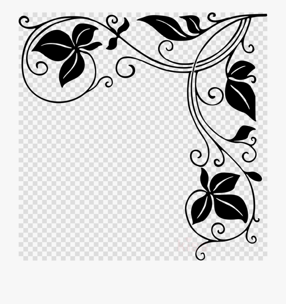 border designs in black and white.