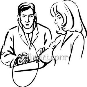 Doctor Clip Art Black And White.