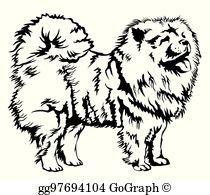 Black And White Dog Clip Art.