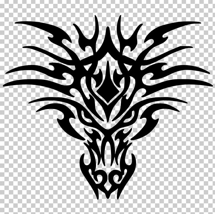 White Dragon Black And White Drawing PNG, Clipart, Black.