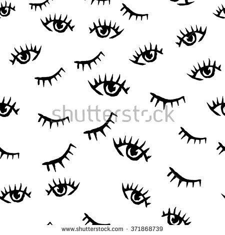 Eye Shut Clipart Black And White.