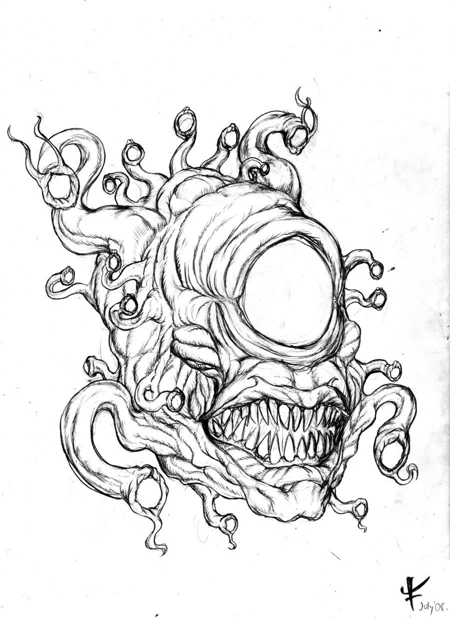 Eye Tyrant by Fantasa on DeviantArt.