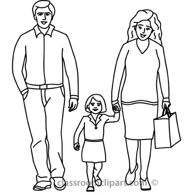 Hd Free Black Children And Father Clipart.