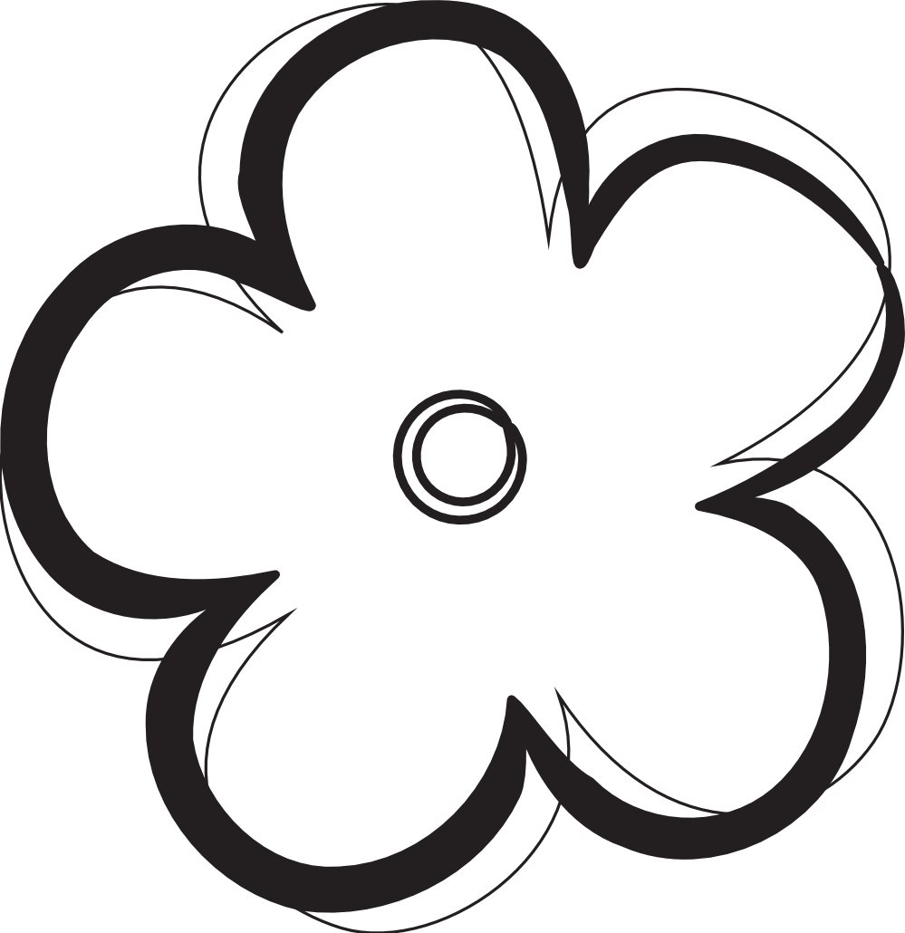Free Flower Images Black And White, Download Free Clip Art, Free.
