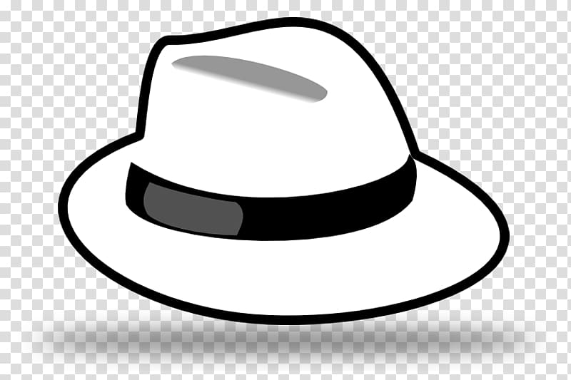 White hat Six Thinking Hats Security hacker, Hat transparent.