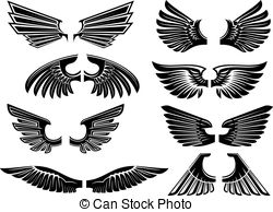 Vector of Tribal raven tattoo.