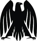 Black Hawk Clip Art.