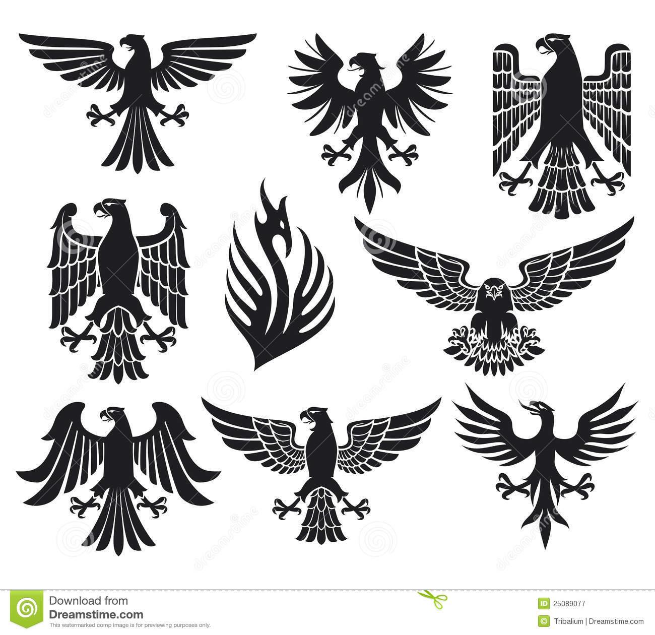 raven heraldic.