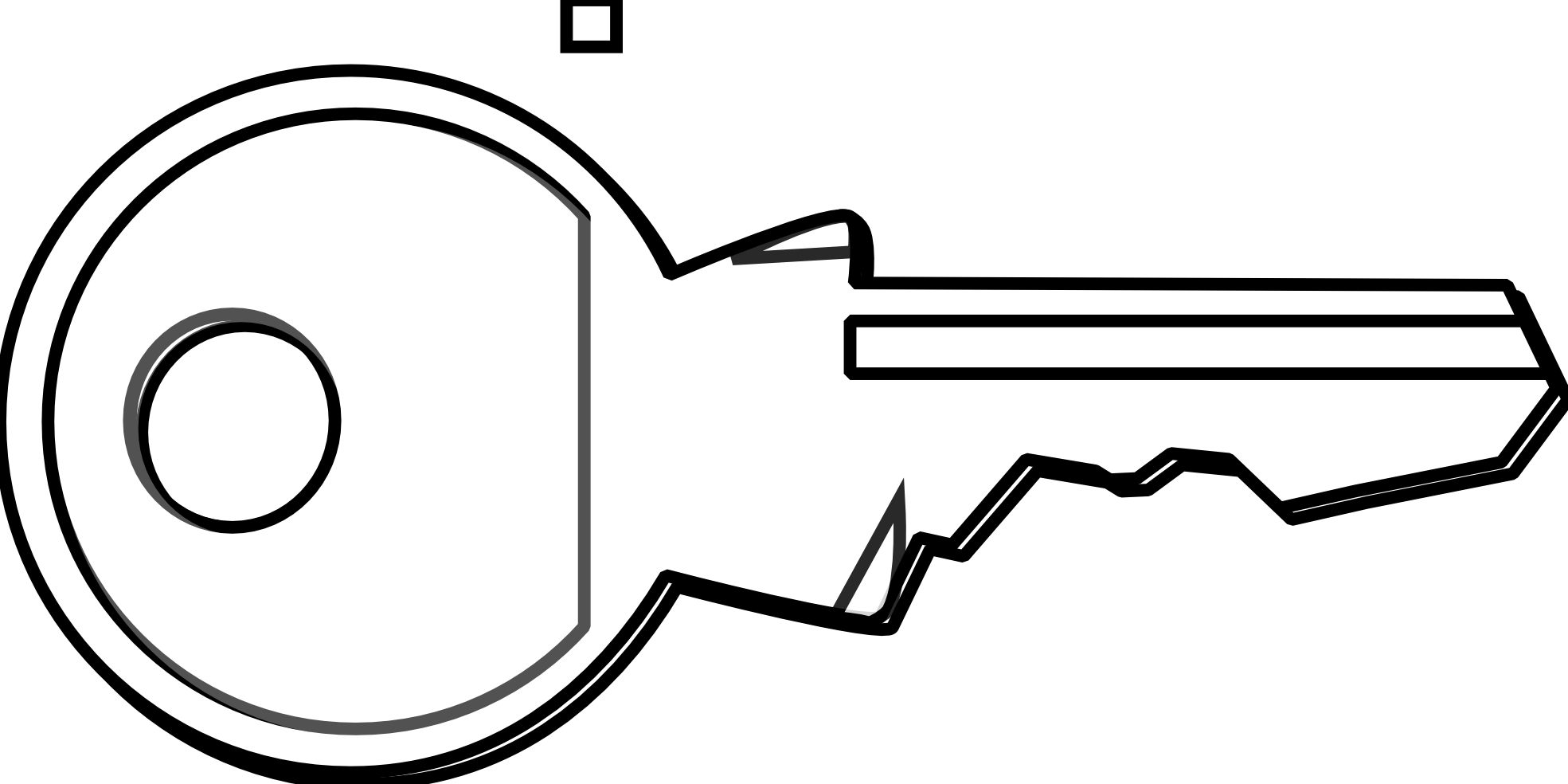 Key black and white key clip art black and white free clipart.