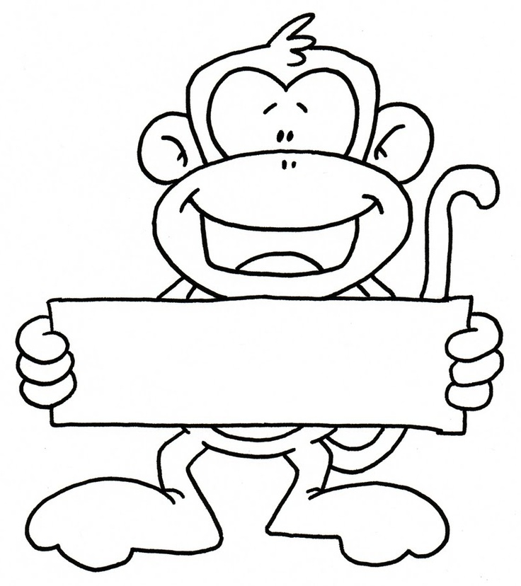 Free Cute Monkey Clipart Download Clip Art On Unusual Black And.