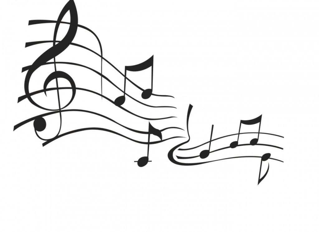 Music Clipart Black And White Free.