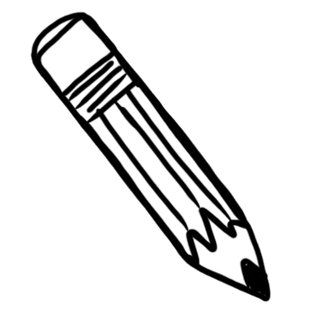 Download Free png Png Pencils Black And White.