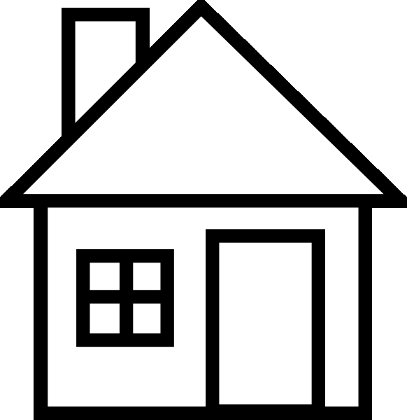 Best School Building Clipart Black and White #28785.