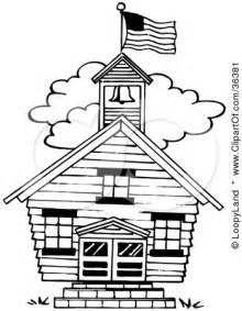 Similiar Black And White Schoolhouse Keywords.