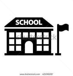 Similiar School Icons Black And White Keywords.