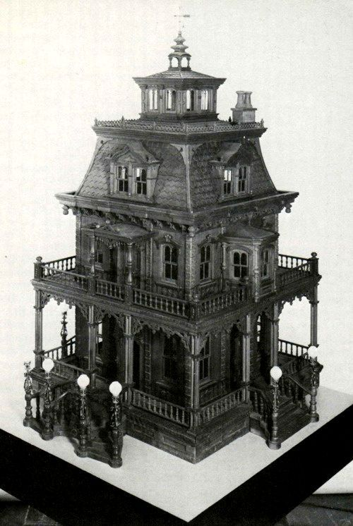 Gothic House Cliparts.