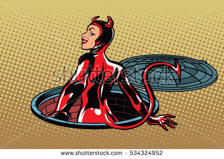 Succubus Stock Images, Royalty.
