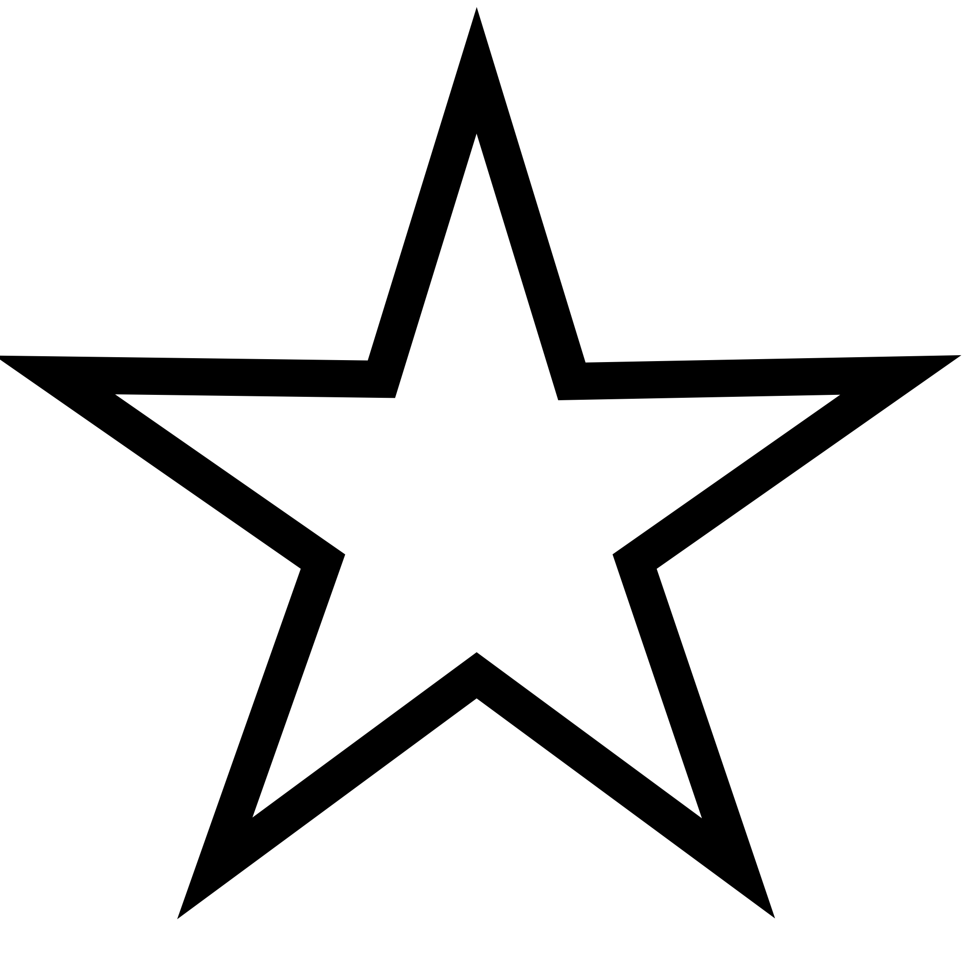 Christmas Star Clip Art Black And White.