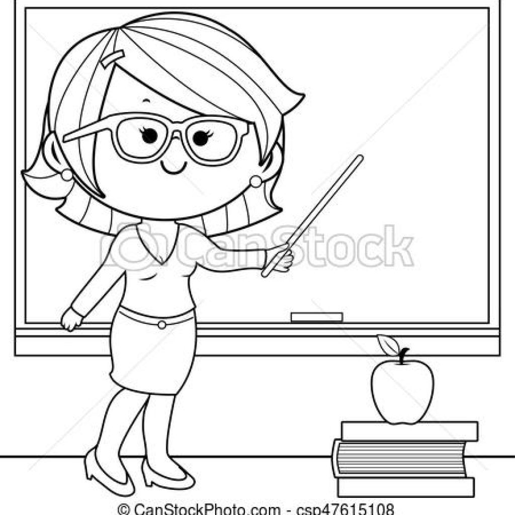Teacher Clipart Black And White math clipart hatenylo.com.