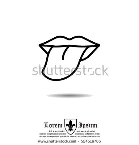 Tongue Taste Stock Images, Royalty.