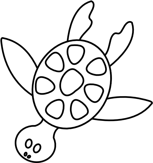 HD Turtle Clipart Black And White Turtle Clip Art Black.