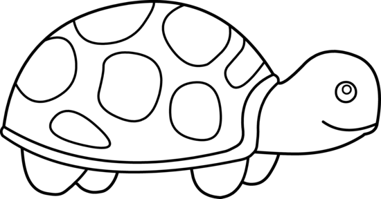 Turtle clip art black and white free clipart images 3.