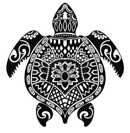 Sea turtle clipart black and white 7 » Clipart Station.