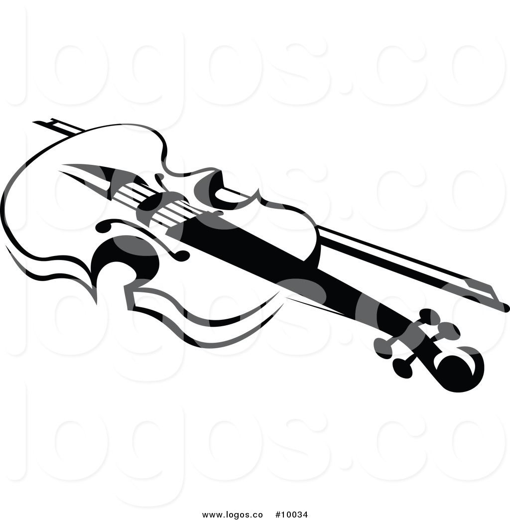 Violin Black And White Clip art of Violin Clipart #4975 — Clipartwork.