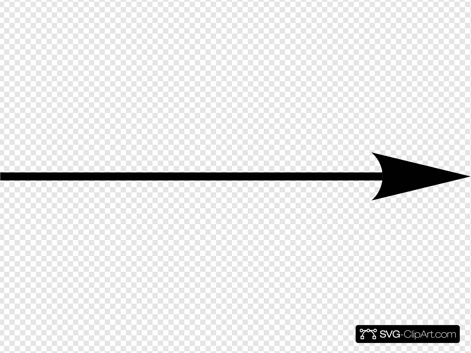 Right Black Arrow Clip art, Icon and SVG.