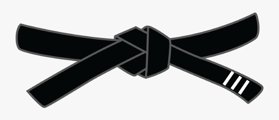 Taekwondo Black Belt Cartoon , Free Transparent Clipart.