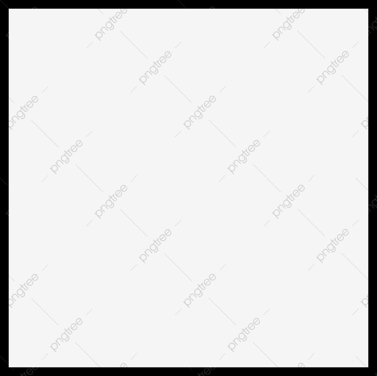 Black Border, Black, Simple, Frame PNG Transparent Image and Clipart.