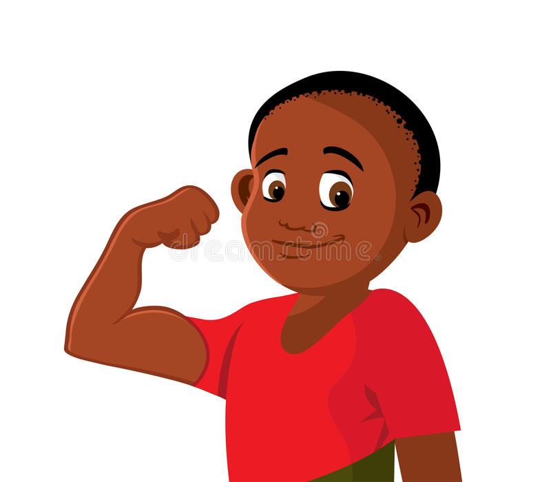 Black Boy Stock Illustrations.
